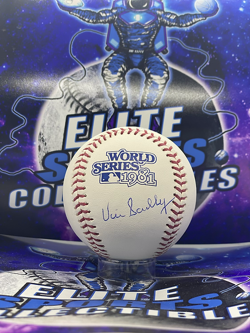 """Vin Scully Signed """"1981 WS"""" Ball (PSA/DNA Authenticated)"""
