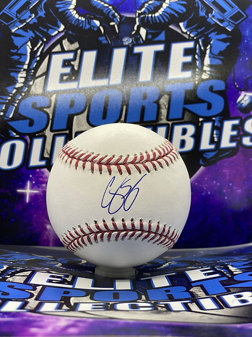 Corey Seager (JSA Authenticated)