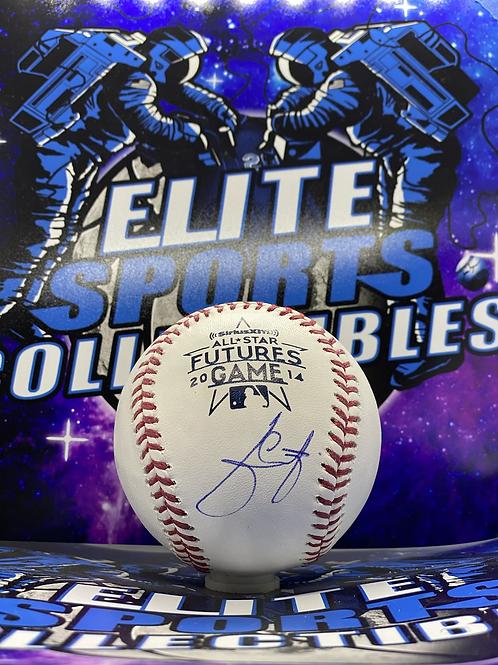 "Julio Urias ""2014 Futures"" (PSA/DNA Rookie Graph)"