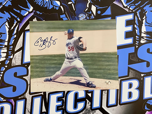 Chad Billingsley Signed 8x10 Photo (NAXCOM)