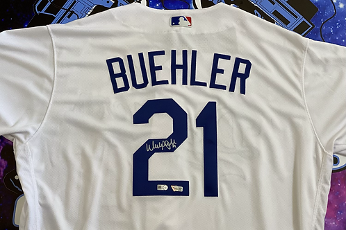 """Walker Buehler """"AUTHENTIC ON-FIELD JERSEY"""" (MLB Authenticated)"""