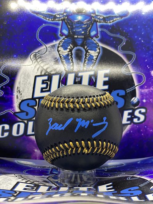 "Zach McKinstry ""Blue Ink"" (ESC Authenticated)"