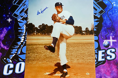 Don Newcombe Signed 16x20