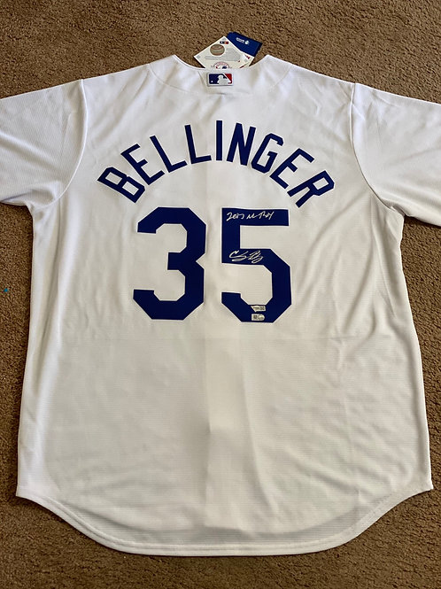 """Cody Bellinger """"2017 NL ROY"""" Signed Jersey ( MLB Authenticated)"""