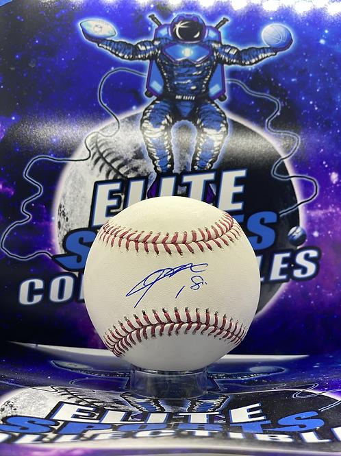 Kenta Maeda Signed Ball (MLB Authenticated)