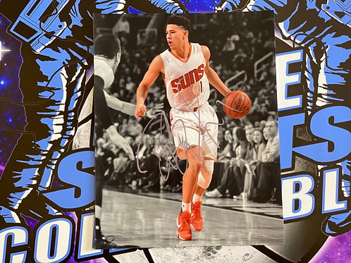 Devin Booker Signed 11x14 Photo