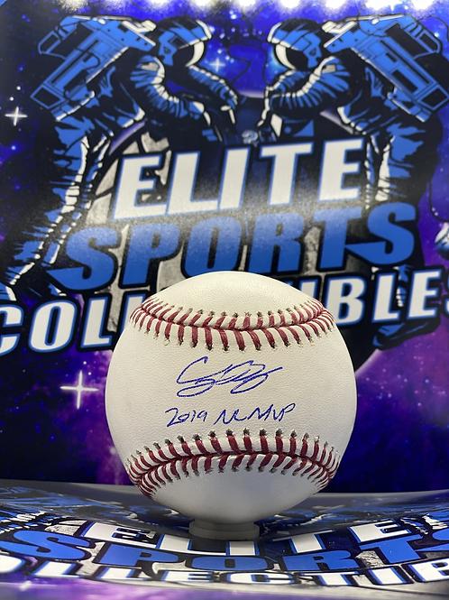 """Cody Bellinger """"2019 NL MVP"""" (MLB Authenticated)"""