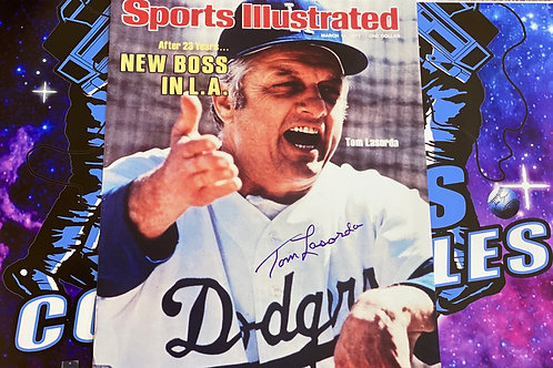 Tommy Lasorda Signed 16x20 Photo