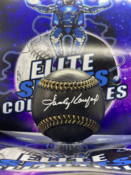 Sandy Koufax Black Ball (MLB Authenticated)