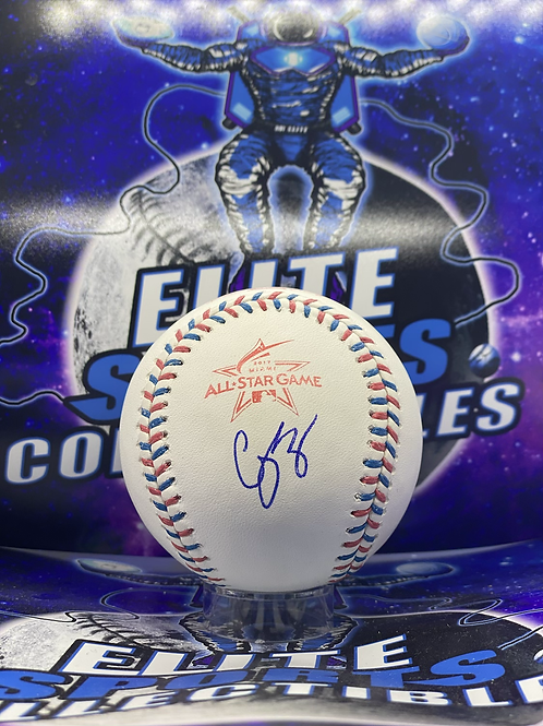 Corey Seager Signed 2017 ASG Ball (PSA/DNA)