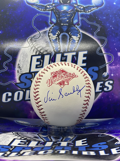 """Vin Scully Signed """"1988 WS"""" Ball (PSA/DNA Authenticated)"""