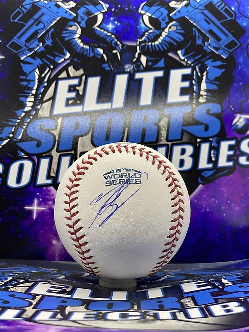 "Mookie Betts ""2018 World Series"" (PSA/DNA)"