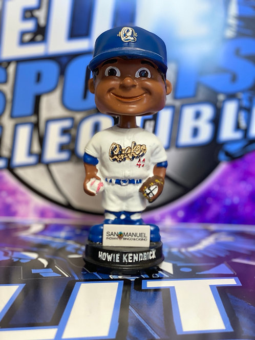 """Howie Kendrick Signed """"RC Quakes"""" Bobblehead"""