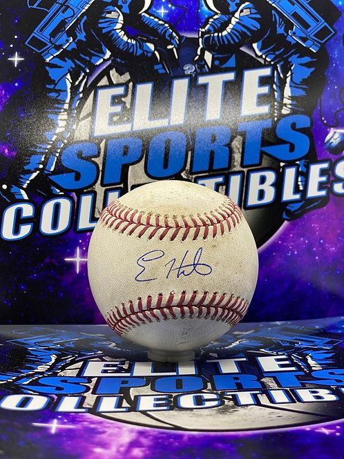 Kike Hernandez Game Used 60th Anv. (MLB & PSA/DNA)