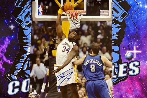 Shaquille O'Neal Signed 16x20 Photo (PSA/DNA)