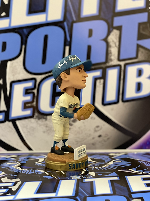 Sandy Koufax Signed Bobblehead (PSA/DNA)