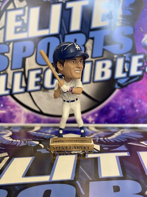 Steve Garvey Signed 2019 Dodgers Bobblehead (Beckett)
