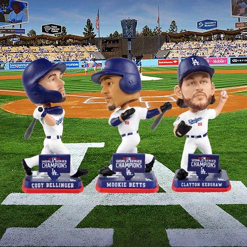 Dodgers Mini Bobblehead Set