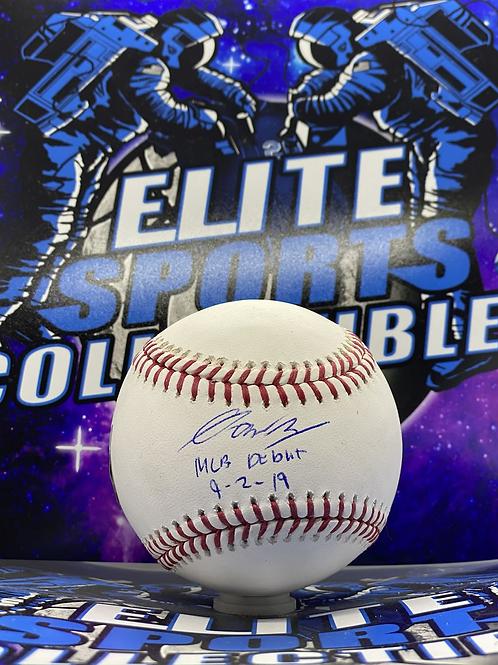 "Gavin Lux ""MLB Debut 9-2-19"" (Fanatics/PSA Rookie Graph)"