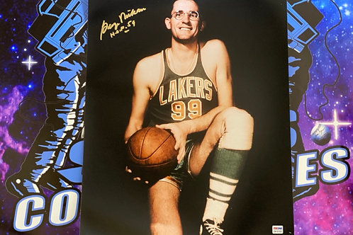 George Mikan Signed 16x20 Photo (PSA/DNA)