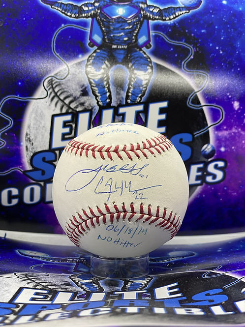 "Clayton Kershaw & Josh Beckett Dual Signed & Inscribed ""No-Hitter"" Ball (MLB)"