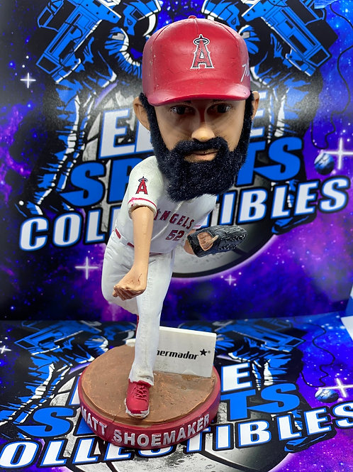 Matt Shoemaker Signed Bobblehead