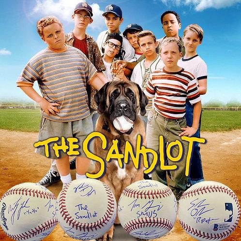 """The Sandlot"" Movie Cast Signed Ball (Beckett)"