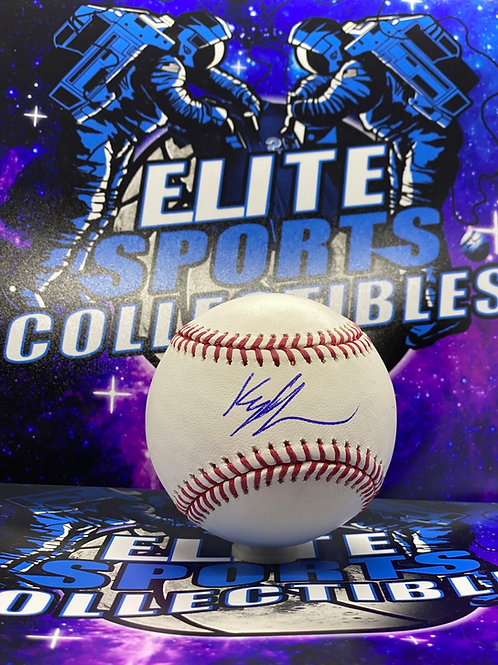 Kyle Lewis (Beckett Authenticated)