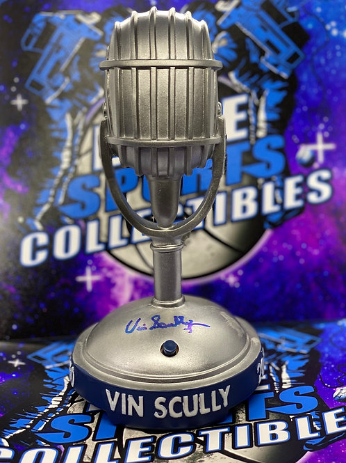 "Vin Scully Signed ""2014 Dodgers SGA Talking Mic"" (PSA/DNA)"