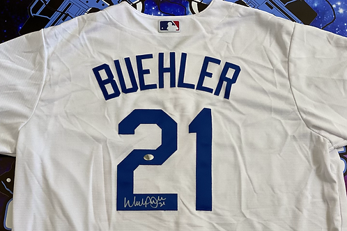 "Walker Buehler Signed Authentic""2020 Nike Jersey"" (Walker Buehler Authenticated)"