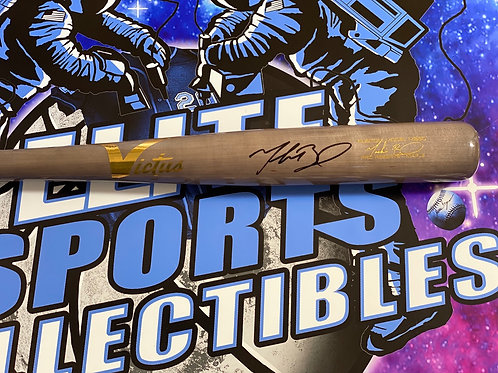 "Mookie Betts Signed ""Victus"" Game Model Bat (MLB Authenticated)"