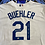 """Thumbnail: Walker Buehler Signed Authentic Majestic Jersey w/ """"First MLB WIN (Buehler Auth)"""