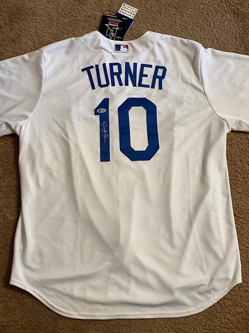 Justin Turner Signed Dodgers Jersey (Beckett & MLB)