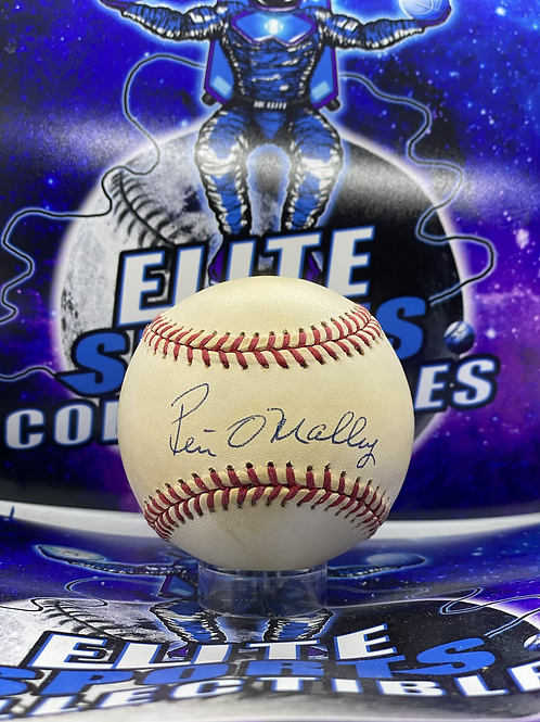Peter O'Malley Signed Ball (PSA/DNA)