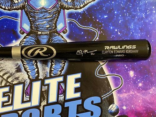 Clayton Kershaw Signed Rawlings Bat (PSA/DNA)
