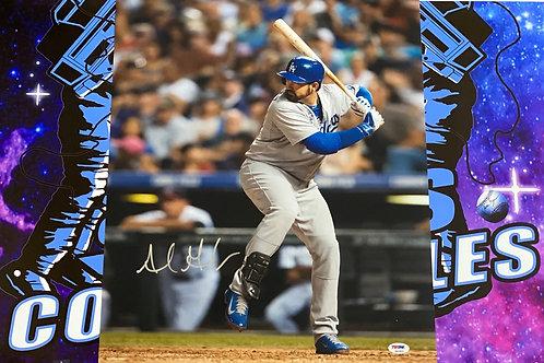 Adrian Gonzalez Signed 16x20 (PSA/DNA)