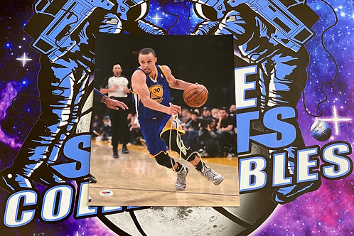 Stephen Curry Signed 11x14 Photo (PSA/DNA)