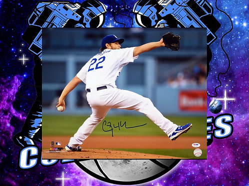 Clayton Kershaw Signed 16x20 Photo (PSA/DNA)