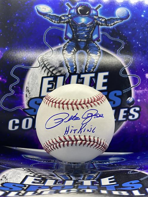 "Pete Rose Signed ""Hit King"" (Pete Rose Hologram)"
