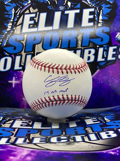 """Cody Bellinger """"19 NL MVP"""" (MLB Authenticated)"""