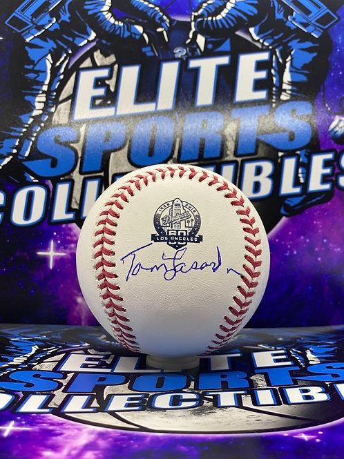 """Tommy Lasorda """"Dodgers 60th Anv"""" (JSA)"""