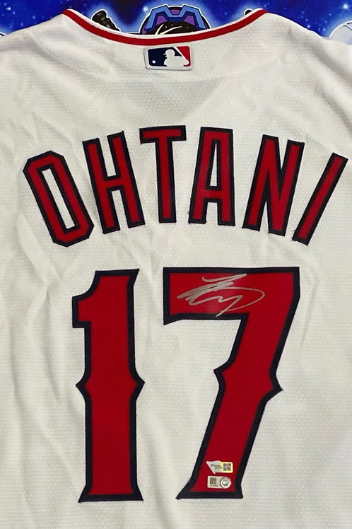 Shohei Ohtani Signed Authentic Majestic Jersey (MLB Authenticated)