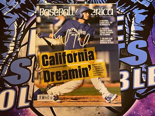 Keibert Ruiz Baseball America Magazine (Beckett)