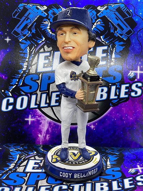 """Cody Bellinger Signed """"RC Quakes MVP"""" Bobblehead (PSA/DNA)"""