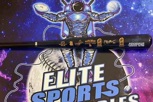 Clayton Kershaw Signed Limited Edition WS Bat (Beckett Authenticated)