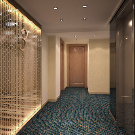 酒店房走廊