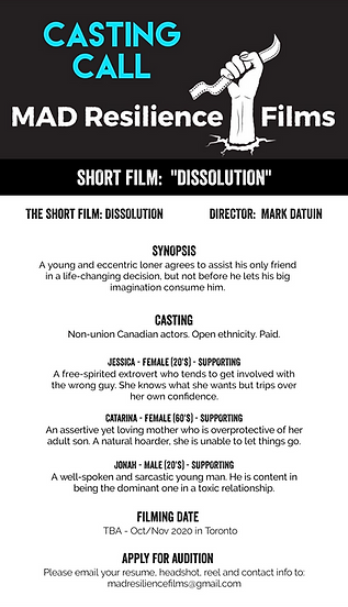 Dissolution - Casting Call.png