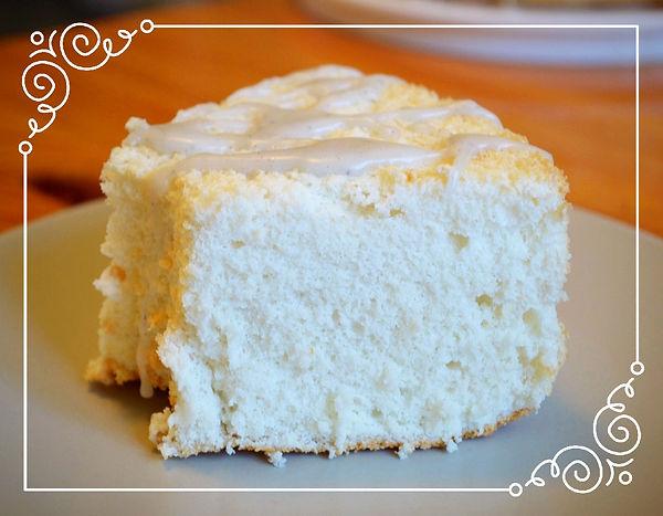 """Торт """"Пища ангела""""   Легкий, низкокалорийный бисквит на белках с восхитительной лавандовой глазурью. Домашняя выпечка Светланы Коноваловой"""