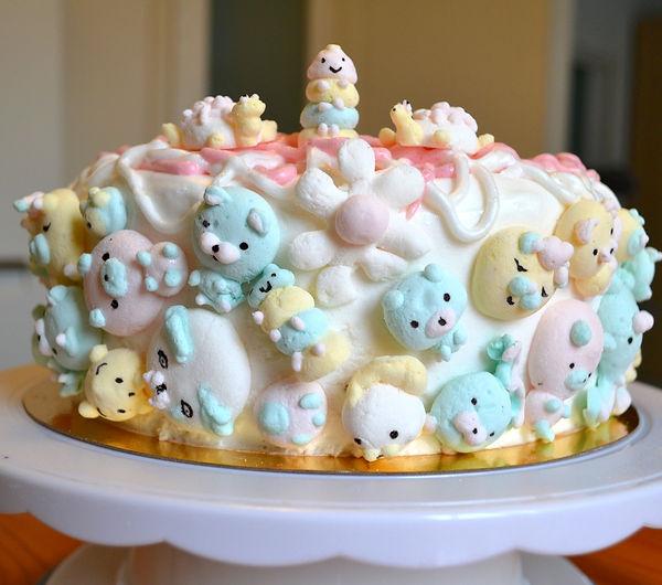 Торт с маршмеллоу