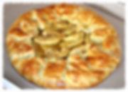 яблочный пирог из песочного слоёного теста. Домашняя выпечка Светланы Коноваловой